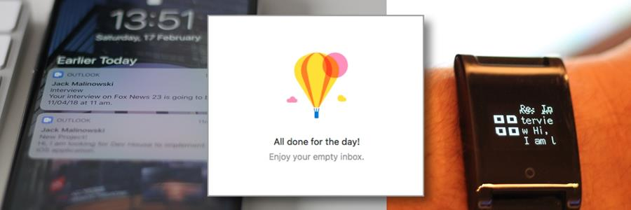 Productivity 1.0 - email